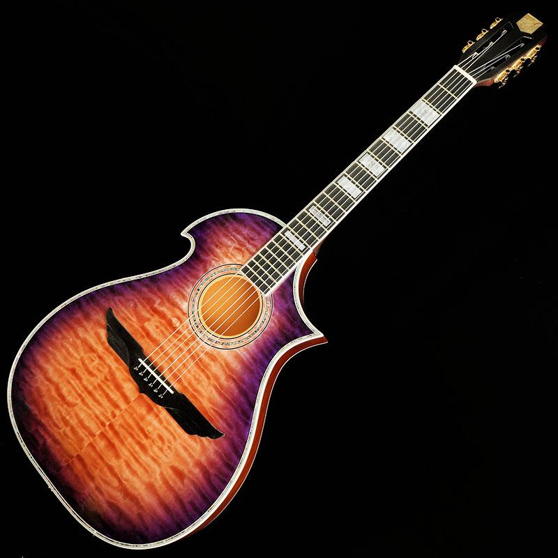EDWARDS Artist Series E-Feuerroter Horizont (Orange & Dark Purple Sunburst) 【限定タイムセール】
