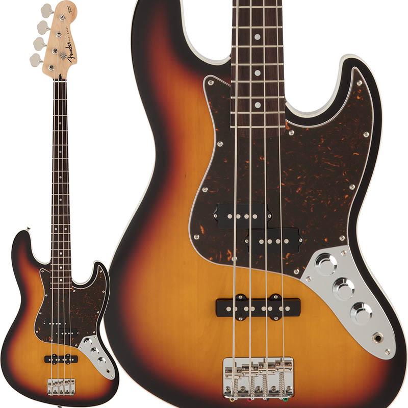Fender FSR Aerodyne Jazz Bass (3-Color Sunburst) [Made in Japan] 【ikbp5】