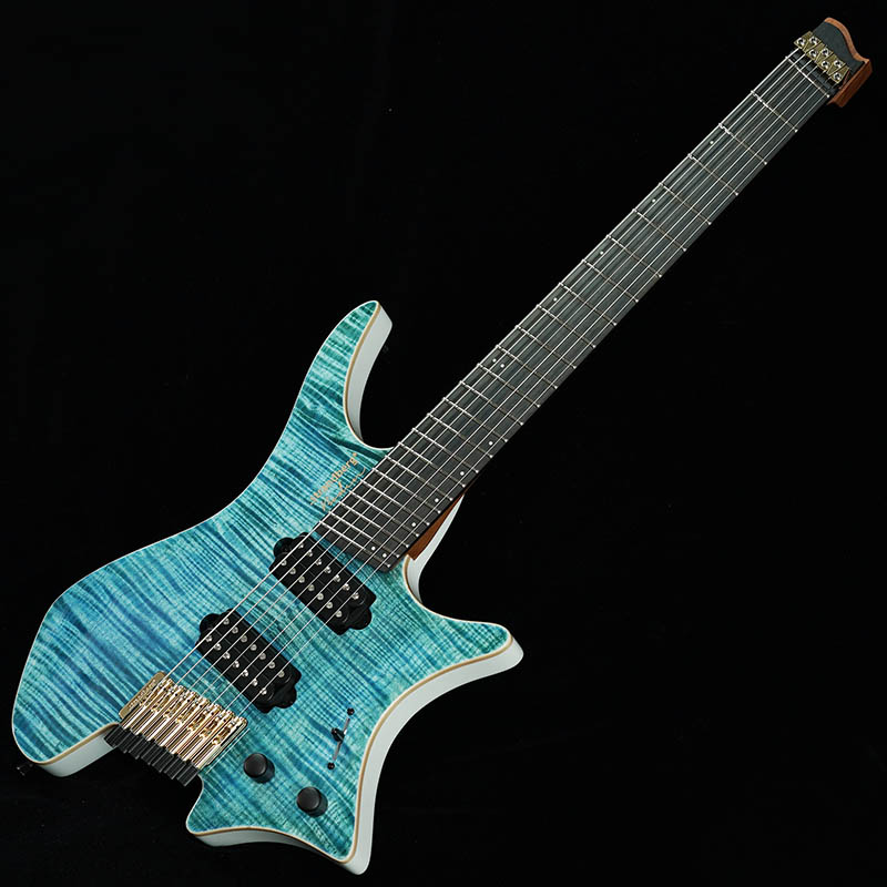 Strandberg Boden J-Series J7 Standard Flame Maple/Ebony (Turquoise) [Made in Japan] 【2018楽器フェア出展品】