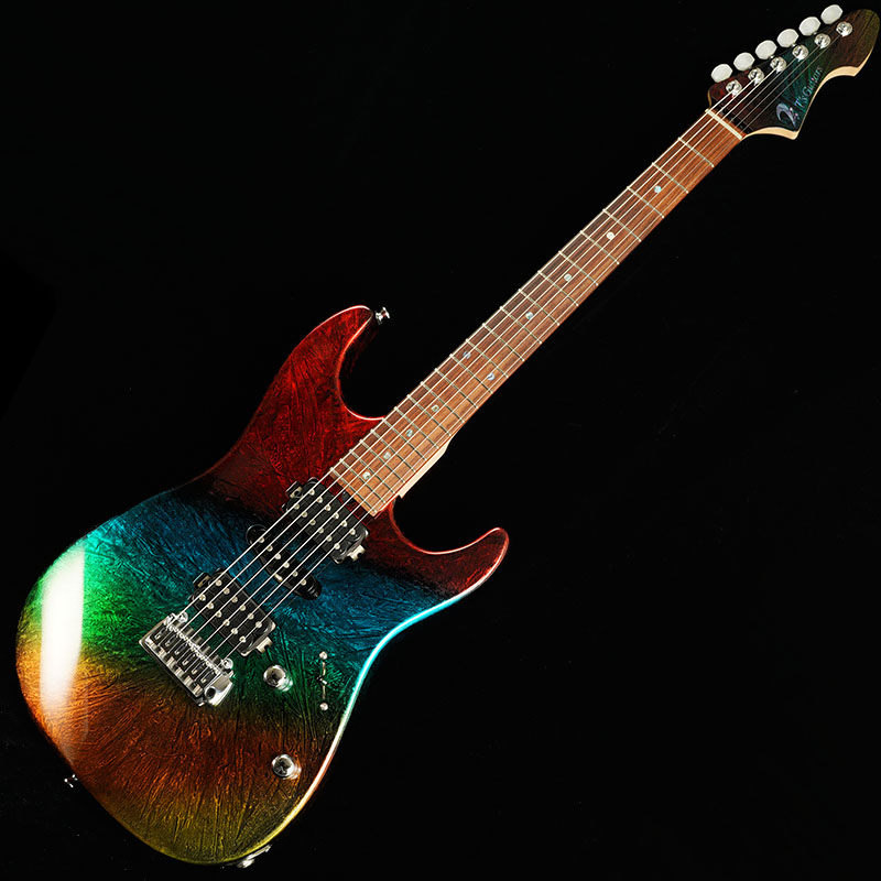 T's Guitars DST-22 w/Buzz Feiten Tuning System (Flourite Flare Red) #031288 【PGC-OTHERS】