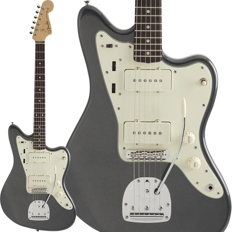 【エレキギター】 Fender Made in Japan Hybrid 60s Jazzmaster (Charcoal Frost Metallic) [Made in Japan] 【ikbp5】