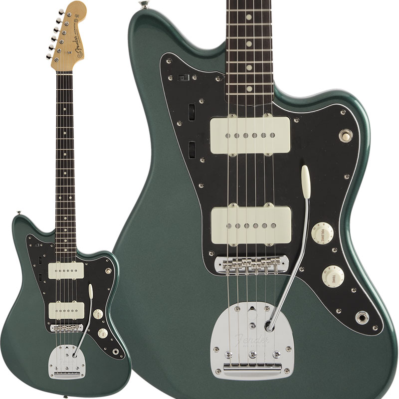 2021年秋冬新作 Fender(フェンダー)エレキギター Made in Japan Hybrid 60s Jazzmaster (Sherwood Green Metallic) [Made in Japan] 【ikbp5】 新品, GRYPS 時計と鞄と雑貨の店 56a1ee48