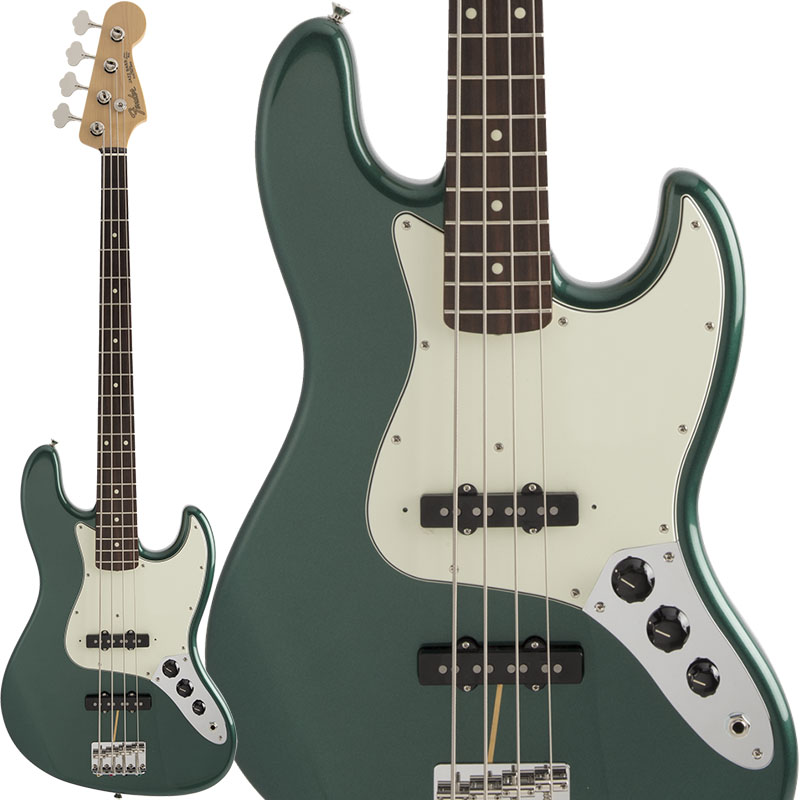 Fender Made in Japan Hybrid 60s Jazz Bass (Sherwood Green Metallic) [Made in Japan] 【ikbp5】 【FENDER THE SPRING-SUMMER 2019 CAMPAIGN】