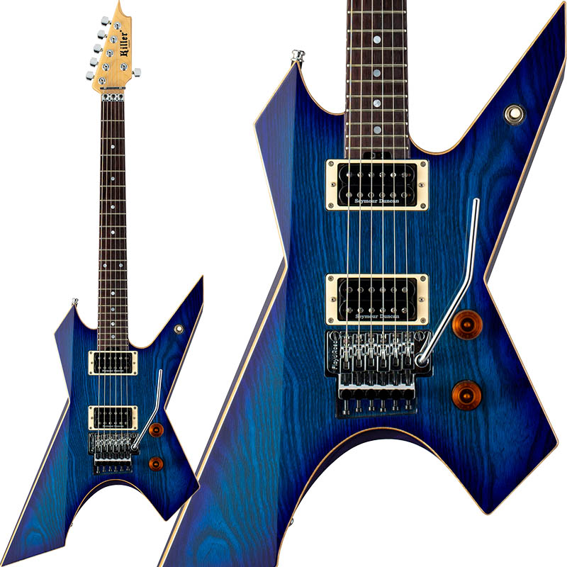 Killer Line) KG-Prime/ Thunderwing (Blueberry Burst/ Natural Binding Binding Line)【受注生産品】, クシキノシ:121cc26a --- thomas-cortesi.com