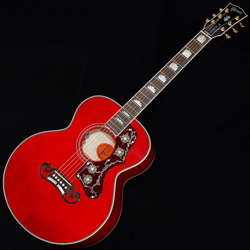 Gibson Limited Edition SJ-200 Parlor Custom (Trans Red) #12908005 【当店スタッフオーダーモデル!】 【ikbp5】