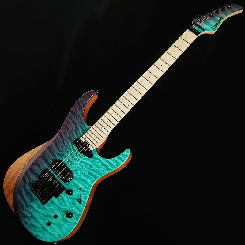 """【エレキギター】 Fernandes FR SUSTAINER II LIMITED (BPGS/BLUE PURPLE GRADATION SLANT) 【注目の""""サスティナー2""""搭載機第一弾は世界に先駆けてイケベ独占販売】"""
