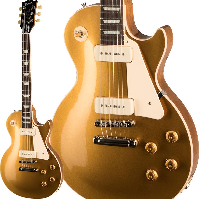 """【エレキギター】 Gibson Les Paul Standard '50s P90 (Gold Top) 【今ならギブソン純正アクセサリーパックに加えてギブソンロゴ入り""""ピックケース""""をプレゼント!】 【ikbp5】"""