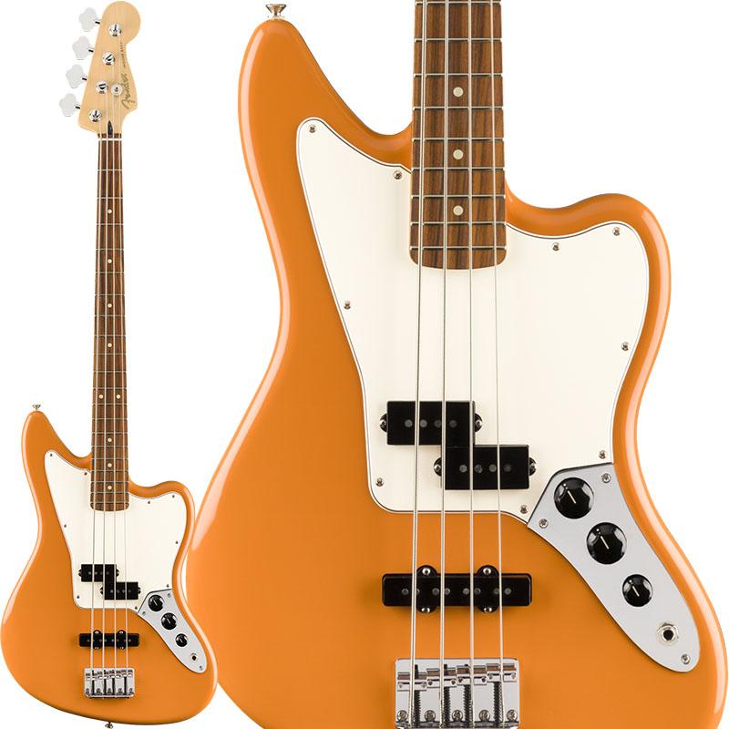 Fender Player Jaguar Bass (Capri Orange/Pau Ferro) [Made In Mexico] 【ikbp5】