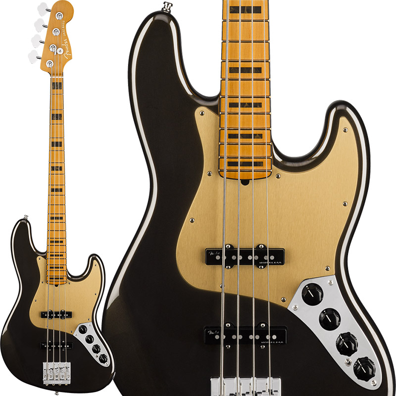Fender American Ultra Jazz Bass (Texas Tea/Maple) [Made In USA] 【ikbp5】