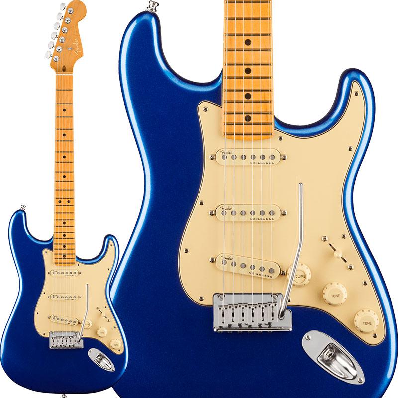 【エレキギター】 Fender American Ultra Stratocaster (Cobra Blue/Maple) [Made In USA] 【ikbp5】
