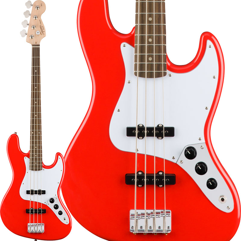Squier by Fender Affinity Series Jazz Bass (Race Red) 【特価】