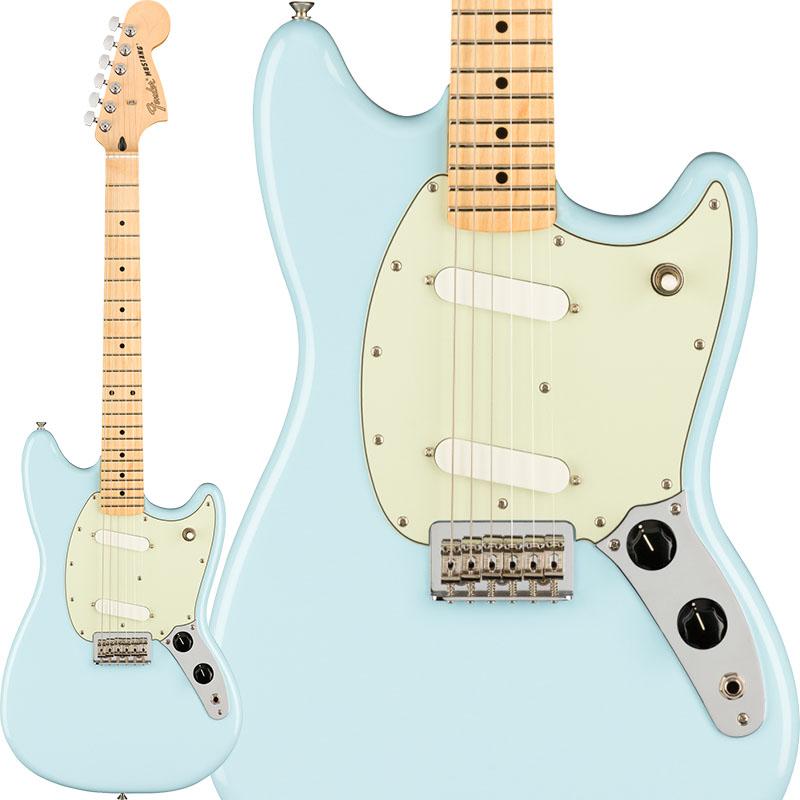 フジオカシ Fender(フェンダー)エレキギター Player Mustang (Sonic In Blue【ikbp5】/Maple) [Made In Mustang Mexico]【ikbp5】 新品, サカホギチョウ:1fd0f805 --- promilahcn.com