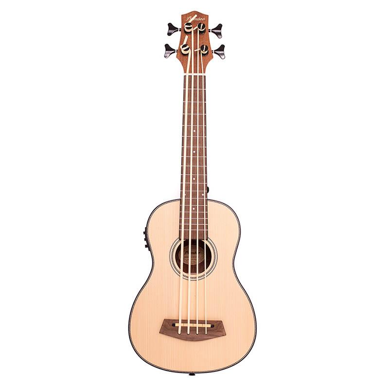 Bamboo Uke Bass Ukulele w/EQ