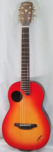 【アコースティックギター】 K.Yairi COMPACT GUITAR Nocturne (CS)