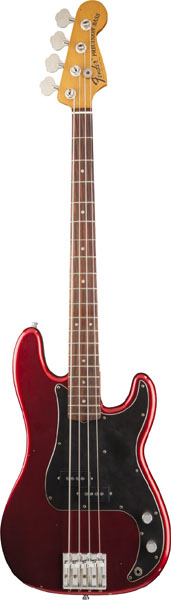 Fender Nate Mendel P Bass (Candy Apple Red) [Made In Mexico] 【ikbp5】