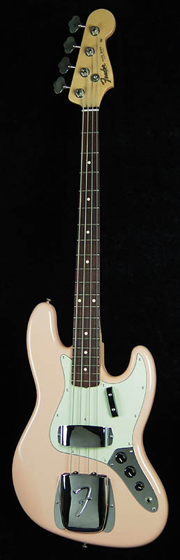 Fender USA Custom Shop Team Built Series TB 64NJB/Shell Pink