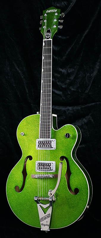 GRETSCH G6120SH Brian Setzer Hot Rod (Green Sparkle)