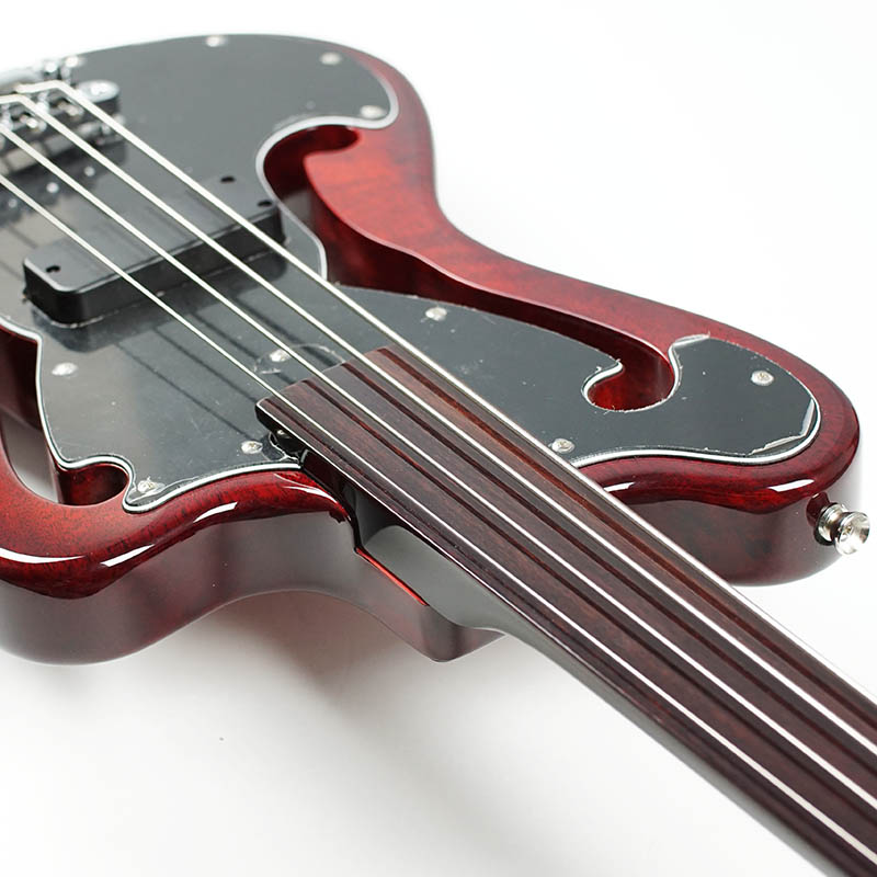 Bacchus GLOBAL Series IKEBE ORIGINAL BEB-1 Fretless (STR / transparent red) [fretles]