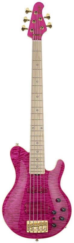 ESP GLAMBELLY(See Thru Pink)[L'Arc-en-Ciel tetsuya(TETSUYA)Signature Model]