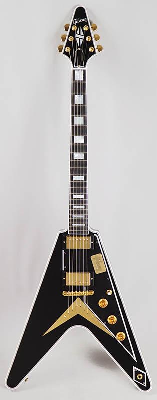 Gibson CUSTOM SHOP Custom Collection Limited Flying V Custom/Ebony 【特価】