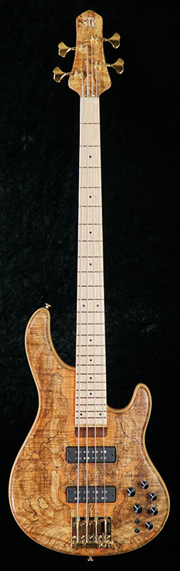 """STR GUITARS LS449 """"Spalted Maple Top"""" 【限定タイムセール】"""