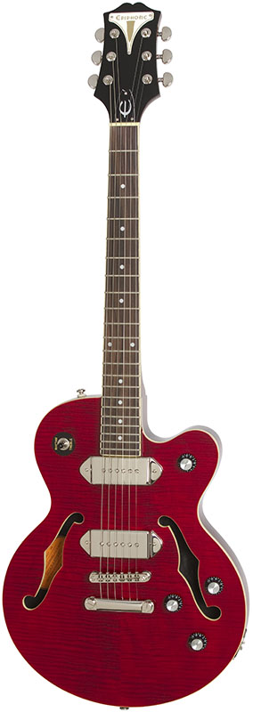 """Epiphone By Gibson Limited Edition WILDKAT STUDIO (Wine Red) 【数量限定!エピフォン純正ハードケース""""940-EHLCS""""プレゼント】"""