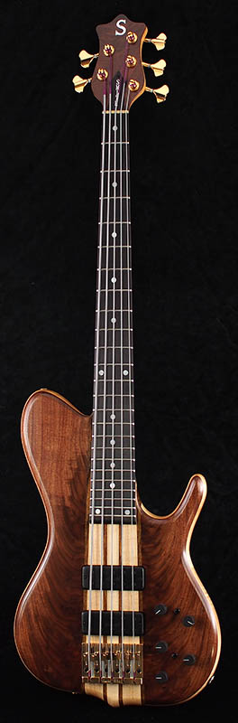 "Ken Smith BSR5TN-CM Single Cut""Black Tiger"""