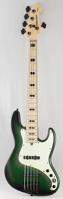 Performance YB5 (Green Sunburst Vintage)
