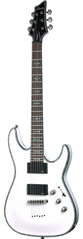 【エレキギター】 SCHECTER C-1 HellRaiser [AD-C-1-HR] (WHT) 【特価】
