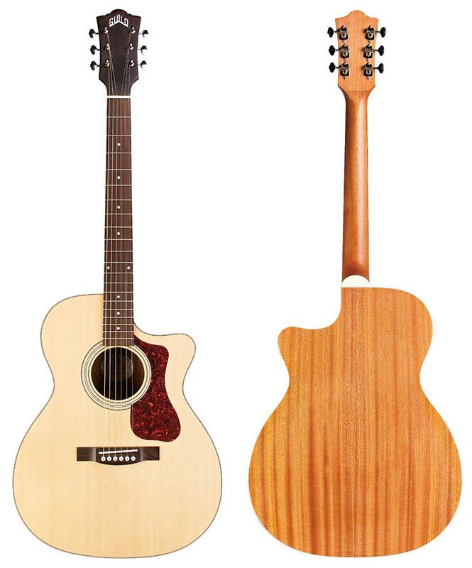 エレクトリック アコースティックギター GUILD 再販ご予約限定送料無料 ギルド Westerly Type OM-240CE セール特別価格 Collection Cutaway 特価