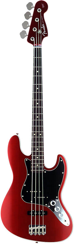 Fender Japan Exclusive Series Aerodyne Jazz Bass (Old Candy Apple Red) 【ikbp5】