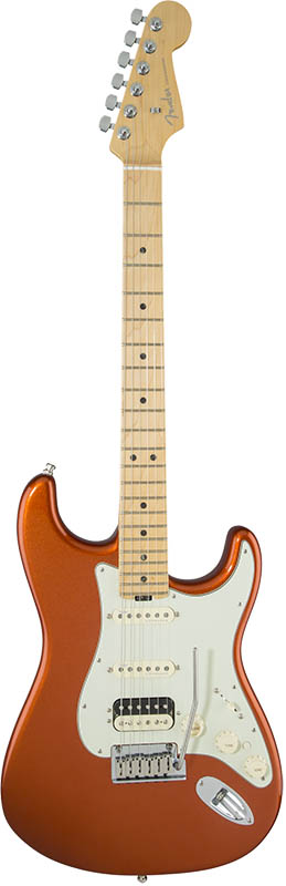 Fender American Elite Stratocaster HSS Shawbucker (Autumn Blaze Metallic/Maple) [Made In USA] 【大幅プライスダウン!】 【ikbp5】