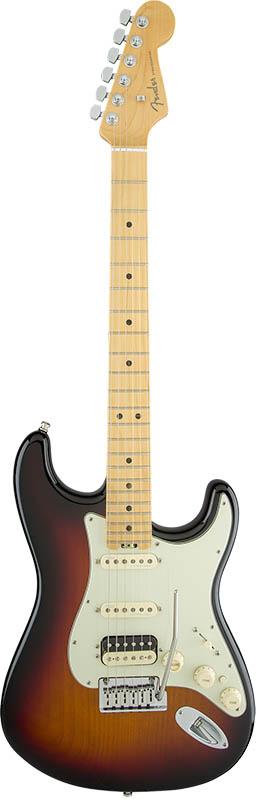 Fender American Elite Stratocaster HSS Shawbucker (3-Color Sunburst/Maple) [Made In USA] 【大幅プライスダウン!】 【ikbp5】