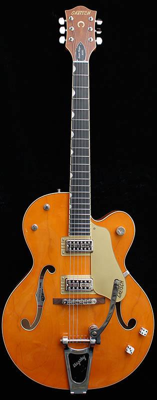 GRETSCH G6120SSLVO Brian Setzer Nashville / Vintage Orange Lacquer