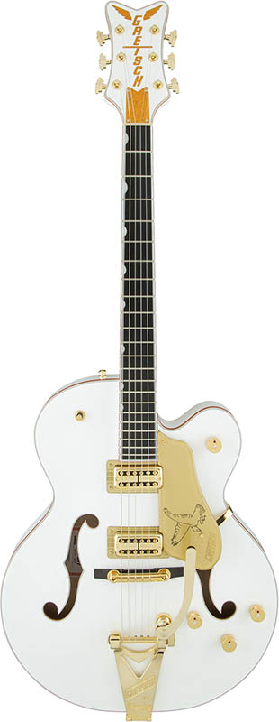 【エレキギター】 GRETSCH G6136T-WHT Players Edition Falcon