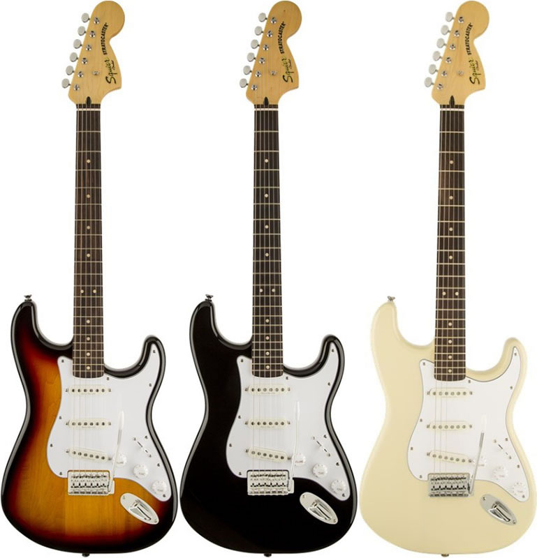 Squier by Fender Vintage Modified Stratocaster 【ikbp5】