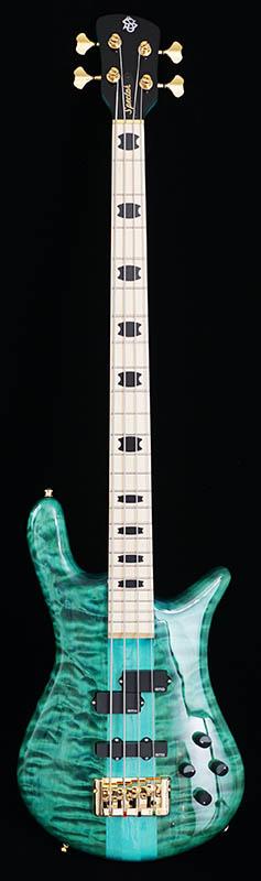Spector Euro 4 LX (Peacock Blue Gloss/Maple fingerboard)