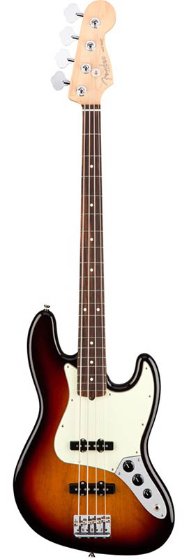 Fender American Professional Jazz Bass (3-Color Sunburst/Rosewood) [Made In USA] 【ikbp5】