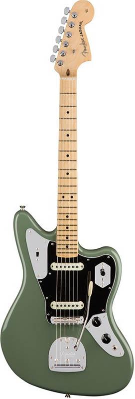 Fender American Professional Jaguar (Antique Olive/Maple) [Made In USA] 【ikbp5】