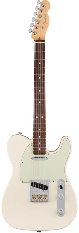 [Made White/Rosewood) 【ikbp5】 Telecaster Fender USA] (Olympic In Professional American
