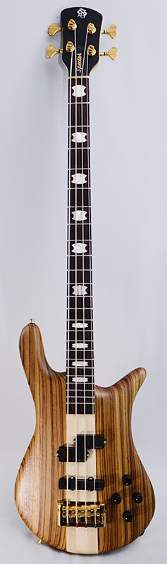 Spector Euro 4 LX (Zebra Wood Top/Natural Matte)