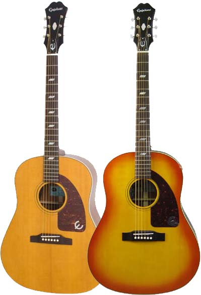 Epiphone by Gibson Inspired by 1964 Texan 【数量限定エピフォン・アクセサリーパック・プレゼント】