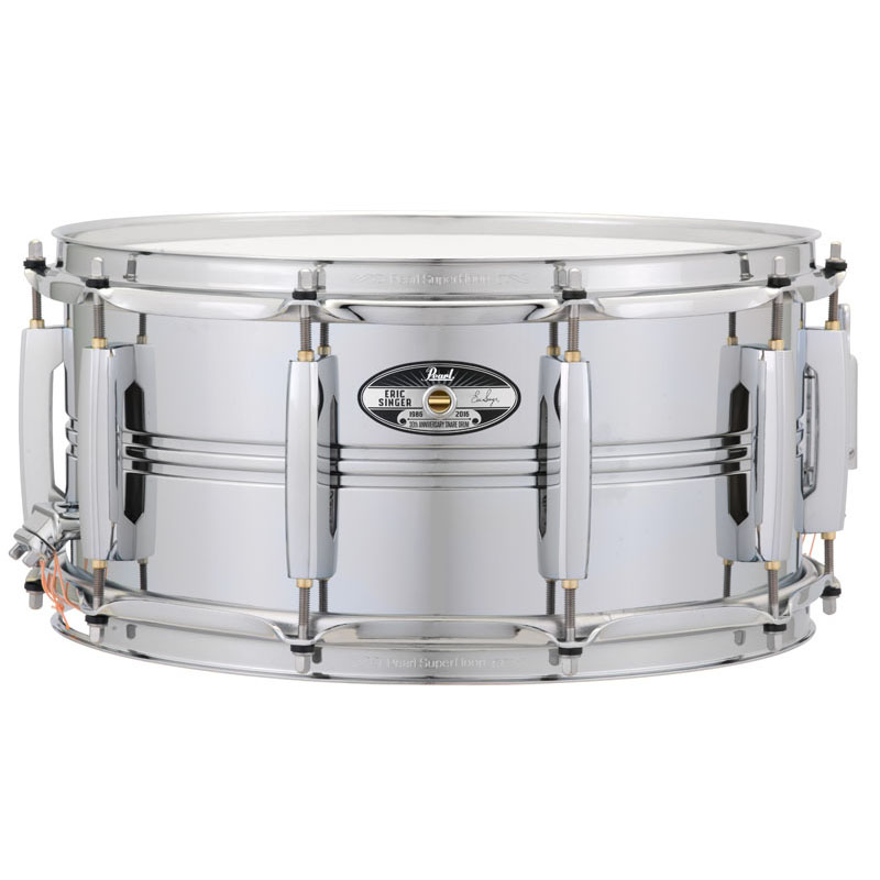 Pearl ESA1465S/C [Eric Singer (KISS) / 30th Annv. Snare Drum -LIMITED EDITION-] 【打面ヘッドに直筆サイン入り!】