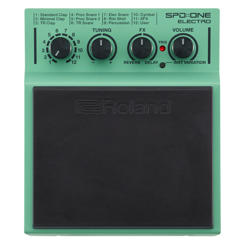 Roland SPD::ONE ELECTRO [SPD-1E / Percussion Pad] 【送料無料】 【ikbp5】