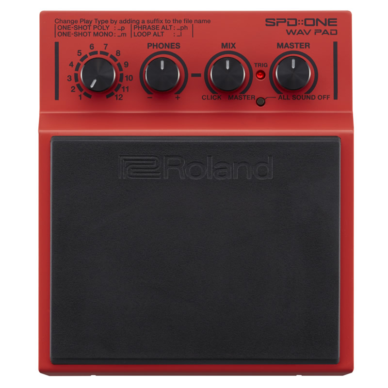 Roland SPD::ONE WAV PAD [SPD-1W / Percussion Pad] 【送料無料】 【ikbp5】