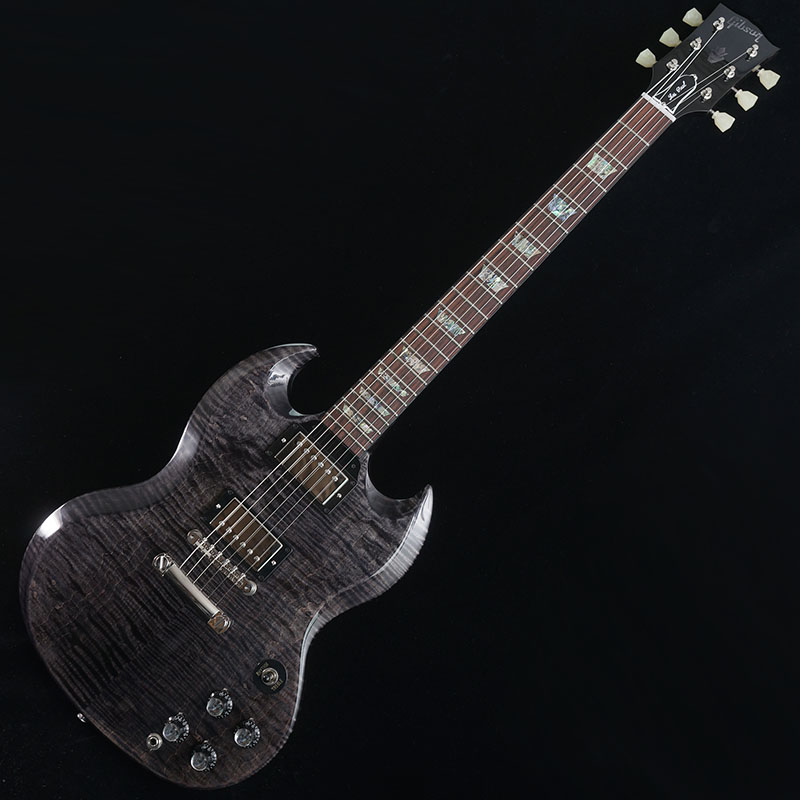 Gibson CUSTOM SHOP SG Elegant Figured (Trans Charcoal) 【特価】