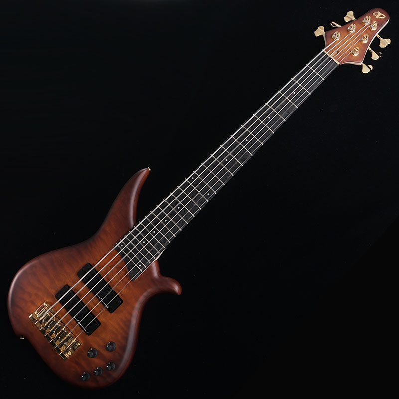 "TUNE TWB-6EX ""Quilted Mpale Top/Ash Back"" (Brown Burst)"
