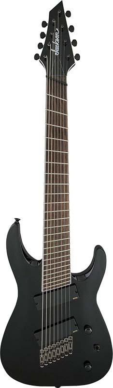 Jackson X Series Soloist Archtop SLAT8 MS (Gloss Black)