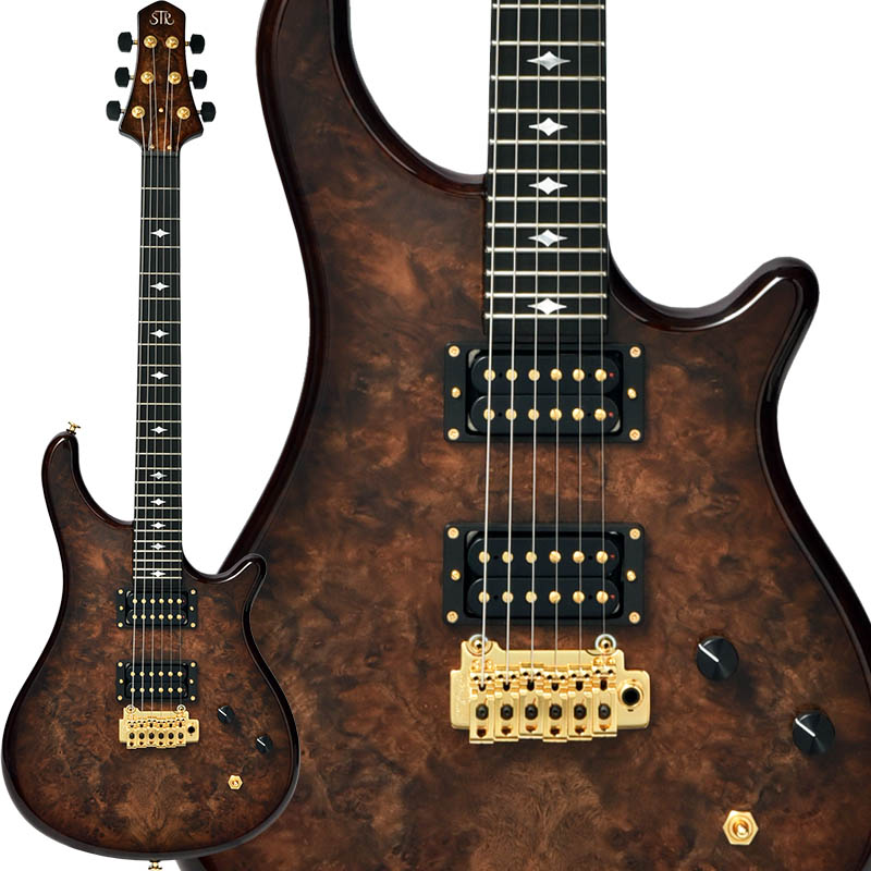 STR GUITARS OS624 #42 (Walnut Burl)