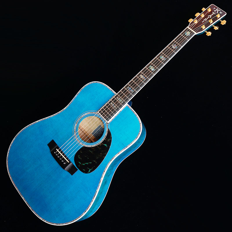 "K.Yairi Standard Series Ikebe Order YW-1000HQ ""Quilt Maple"" (Trans Blue) 【限定タイムセール】"